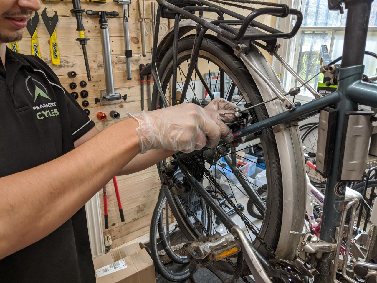 bike repairs buxton